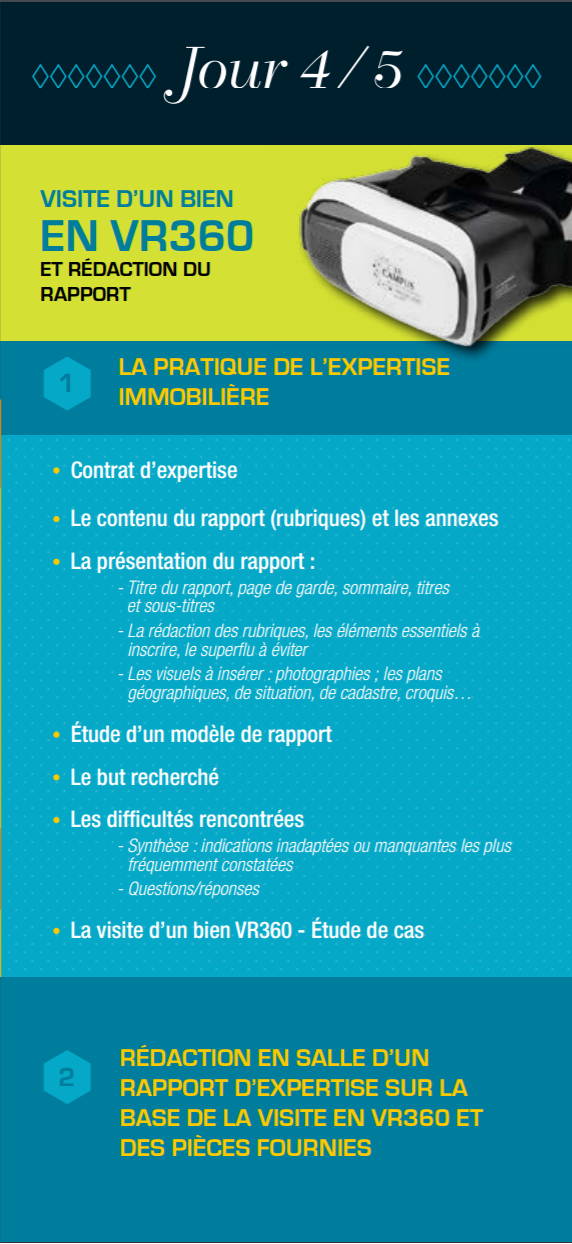 Les master class de l 39 evaluation immobili re - Chambre des experts immobiliers ...